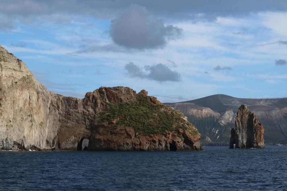Steilküste Lipari