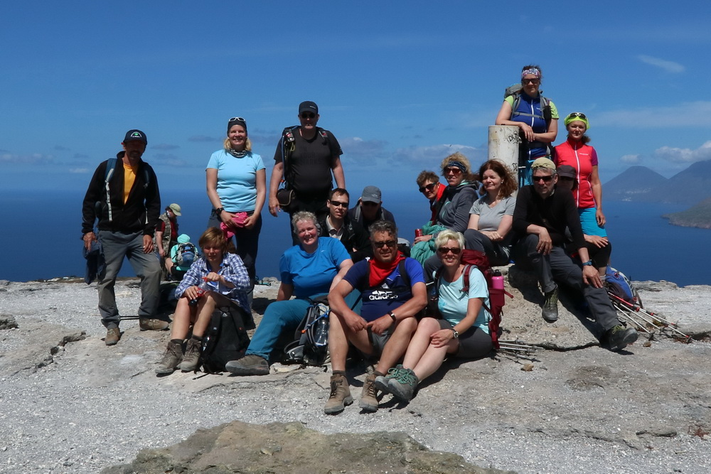 DAV- Summit- Wandergruppe Mai 2017