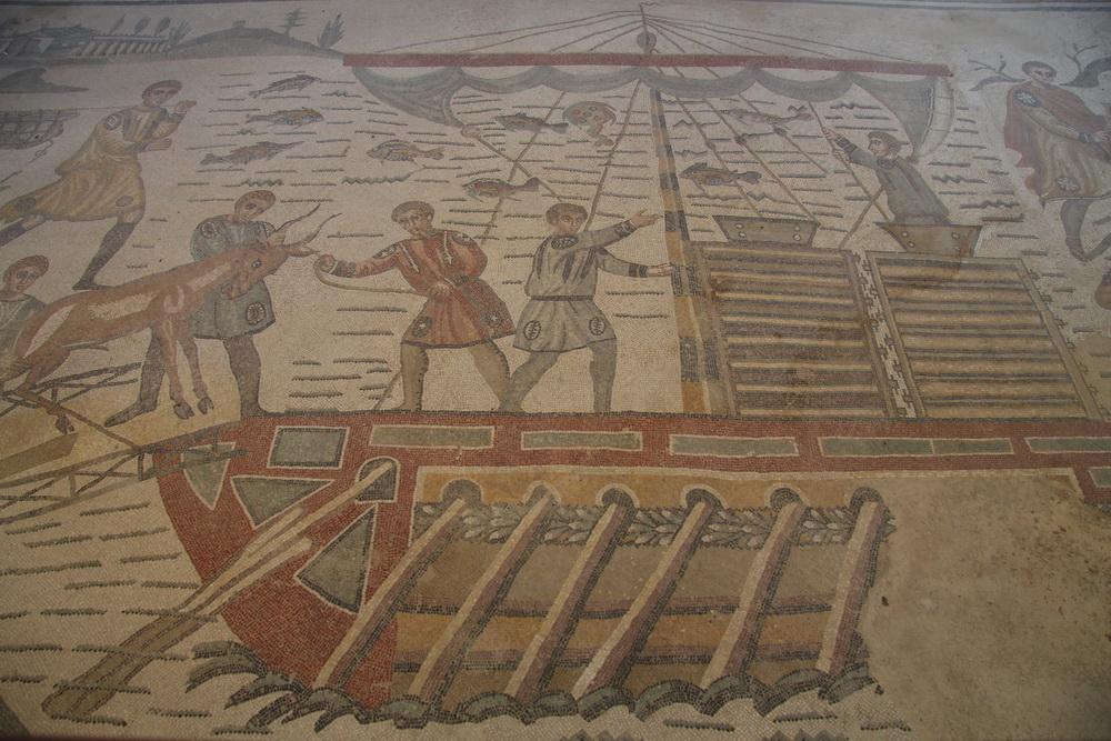 Bodenmosaiken Römische Villa- Piazza Armerina