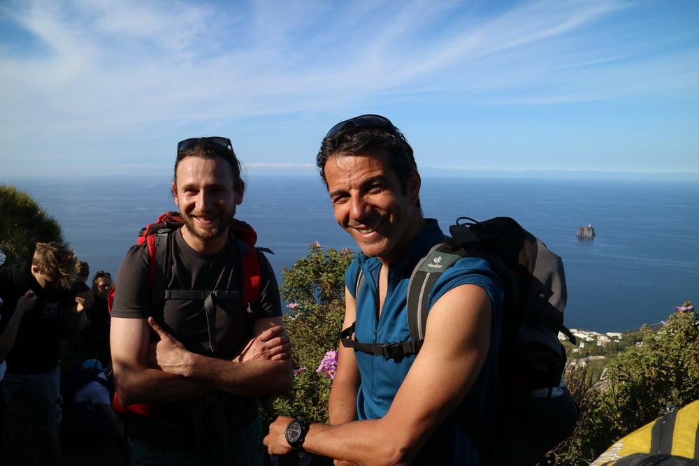 Unsere Stromboli- Guides