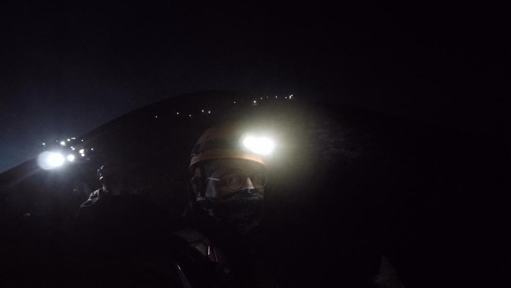 Fackelzug am Stromboli
