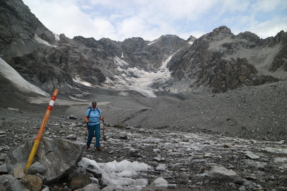 Auf dem Gletscherweg