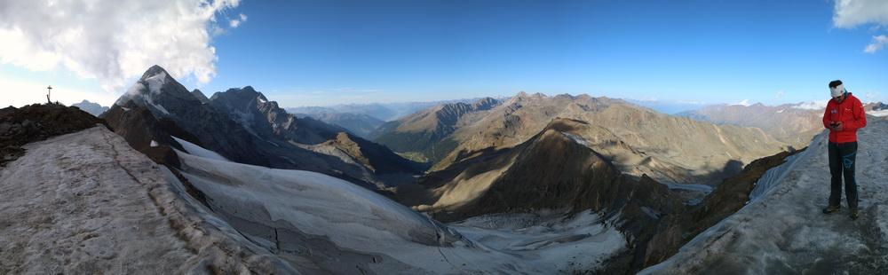Auf der Suldenspitze 3376m