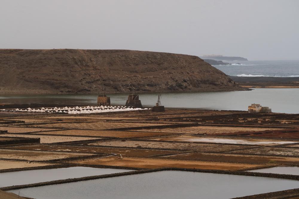 Meersalzgewinnung in der Laguna de Janubio
