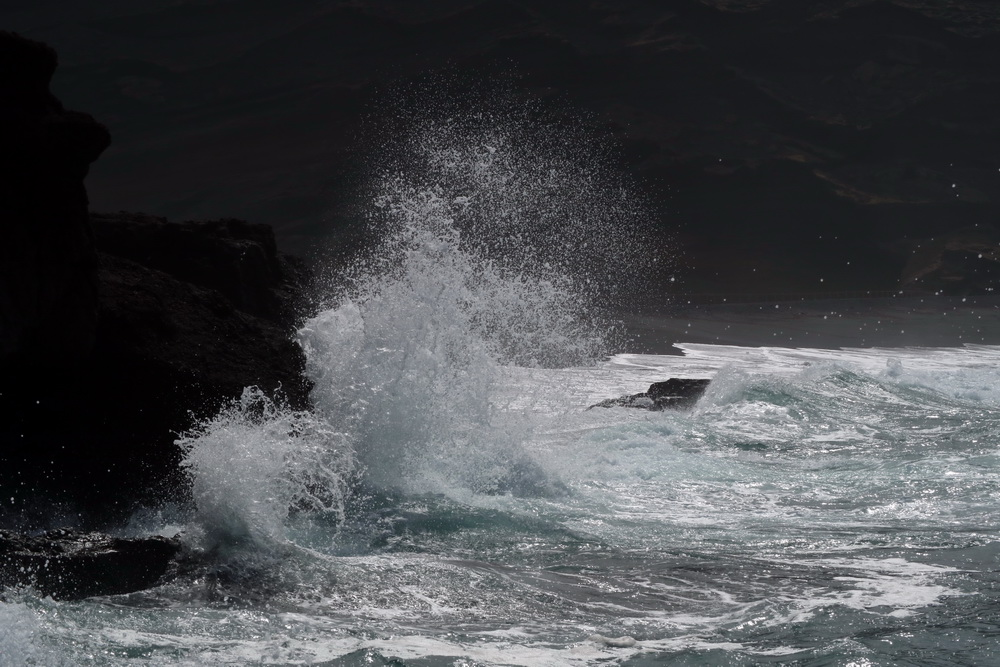 Lava trifft Atlantik