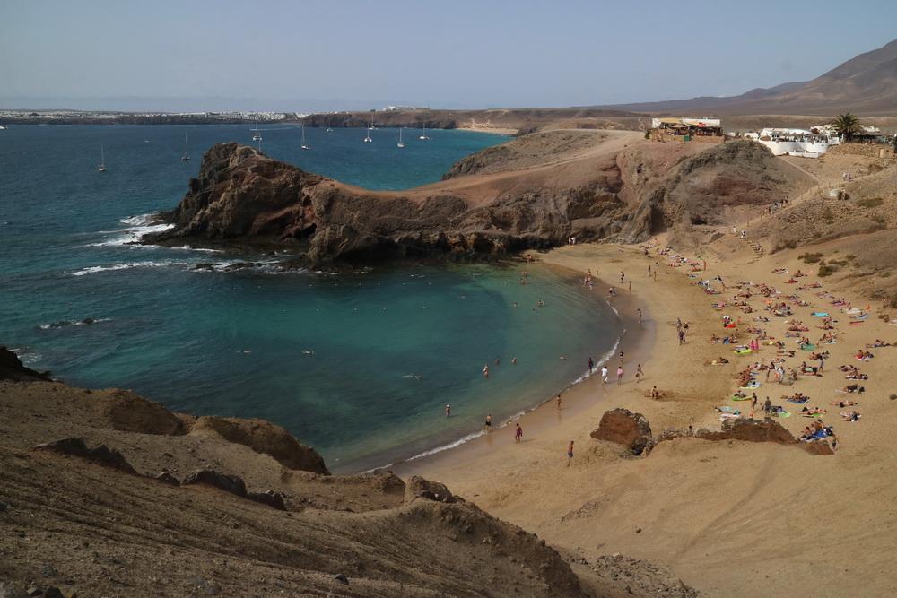 An der Punta del Papagayo
