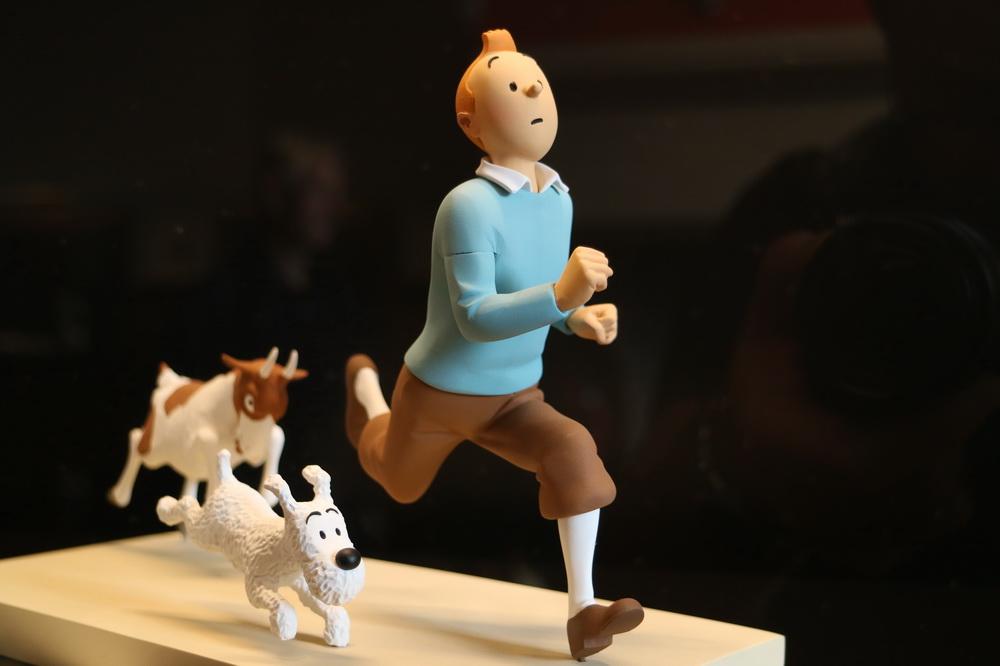"""Belgische Helden """"Tim & Struppi"""" (Hergé)"""