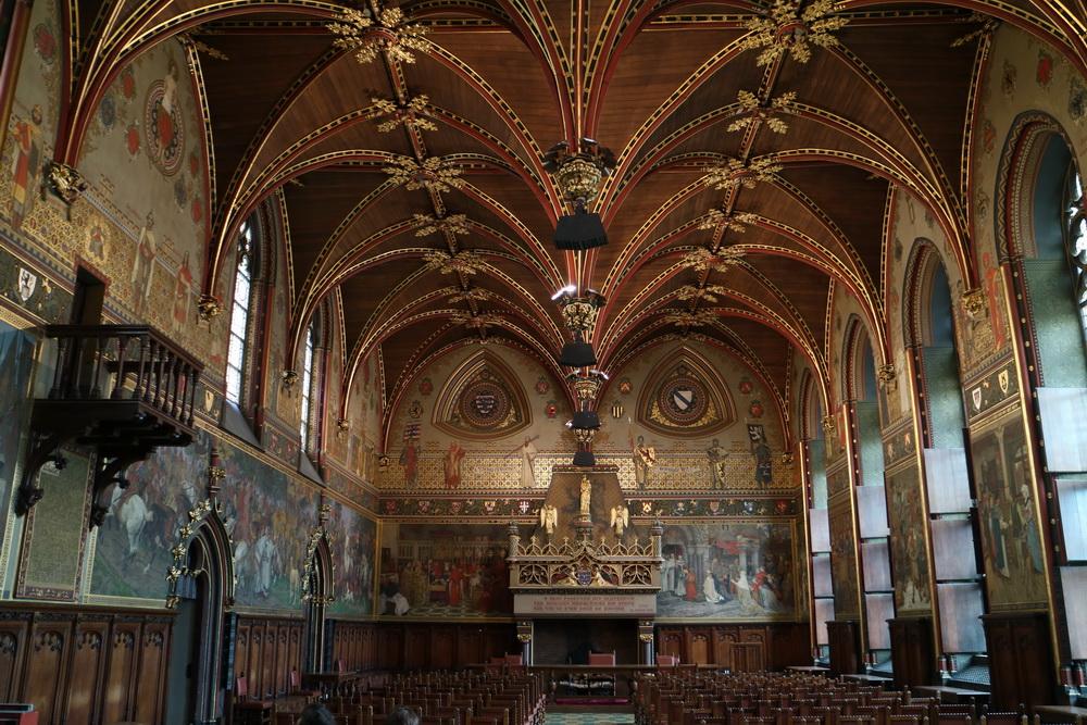 Gotischer Saal im Stadthuis