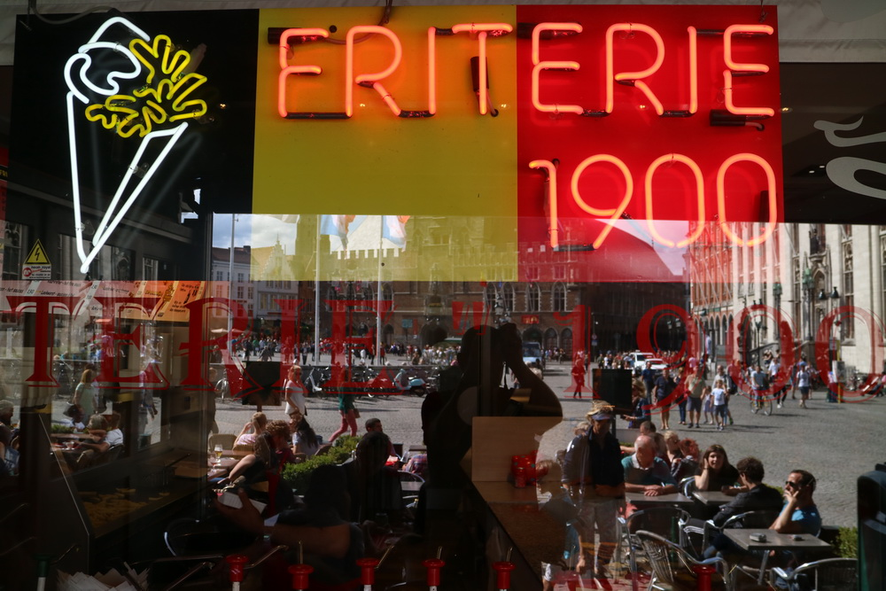 Friterie 1900 am Grote Markt