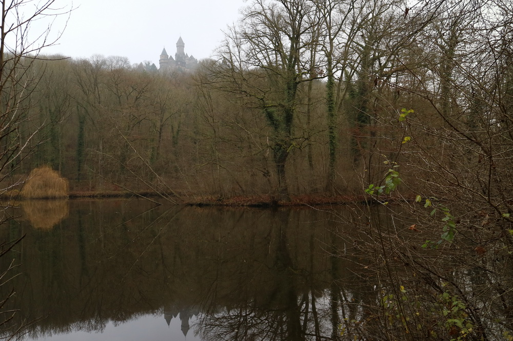 Großer Weiher mit Schloss Braunfels
