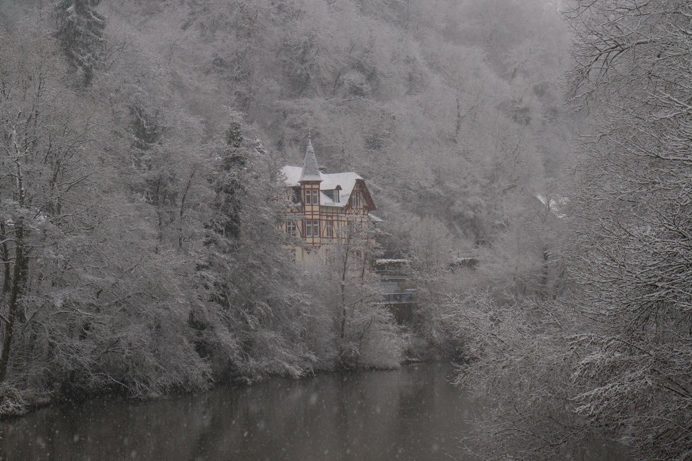 Lahn in Weilburg