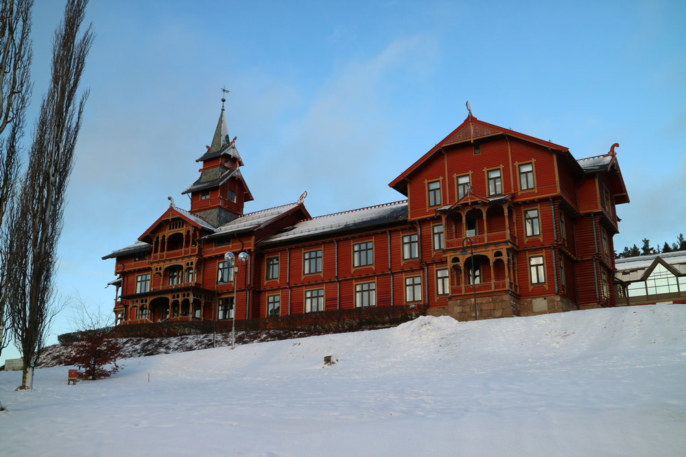 Ehemaliges Sanatorium- Hotel Holmenkollen