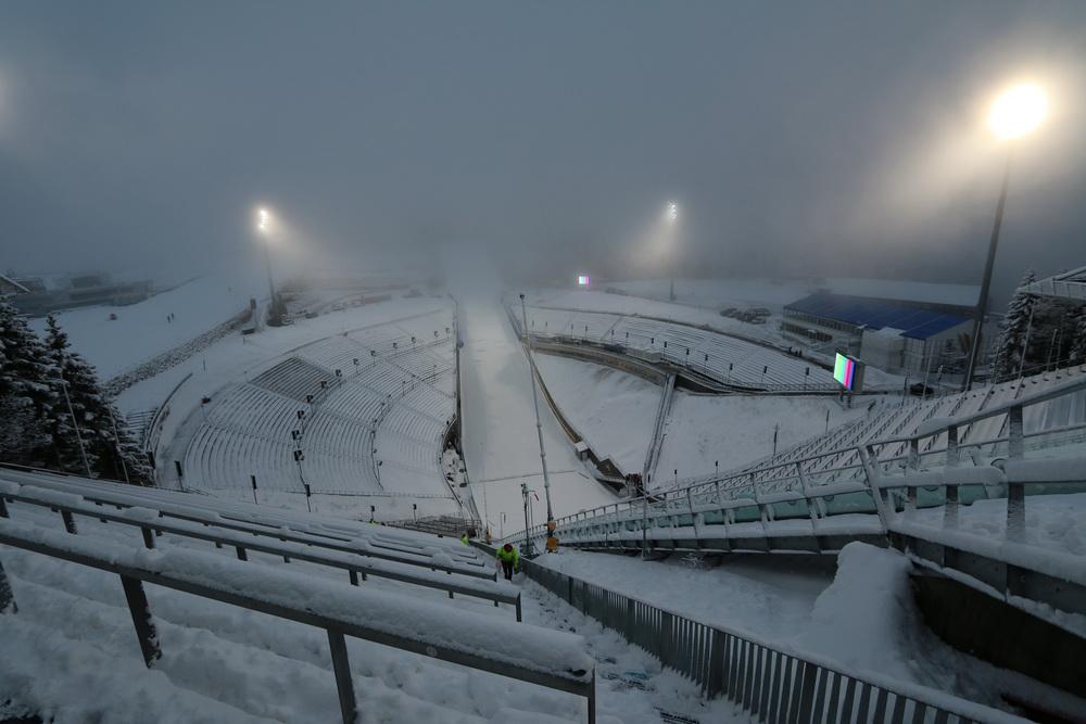 Stadion an der großen Sprungschanze