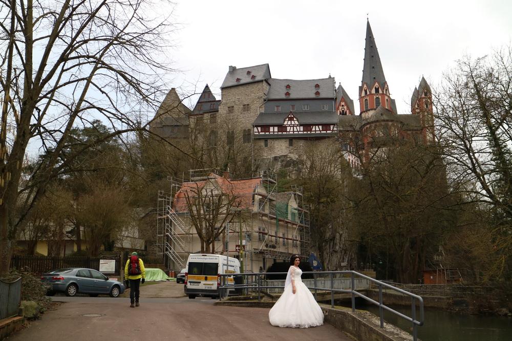 Limburger Felsen mit Braut