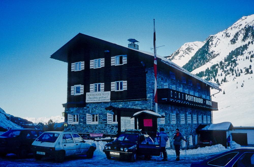 Kühtai 1992- Dortmunder Hütte 1948m