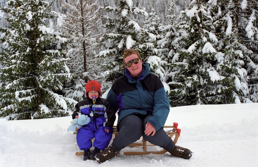 Matrei 1999- Annes erster Schneeurlaub