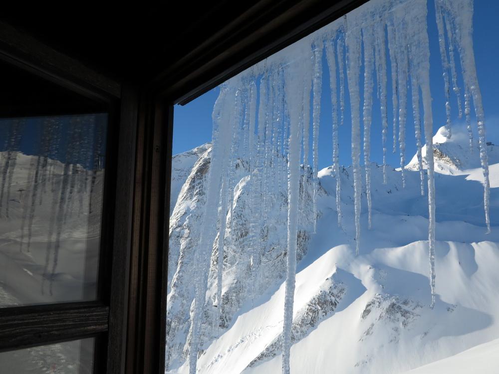 Fensterblick auf über 2000m