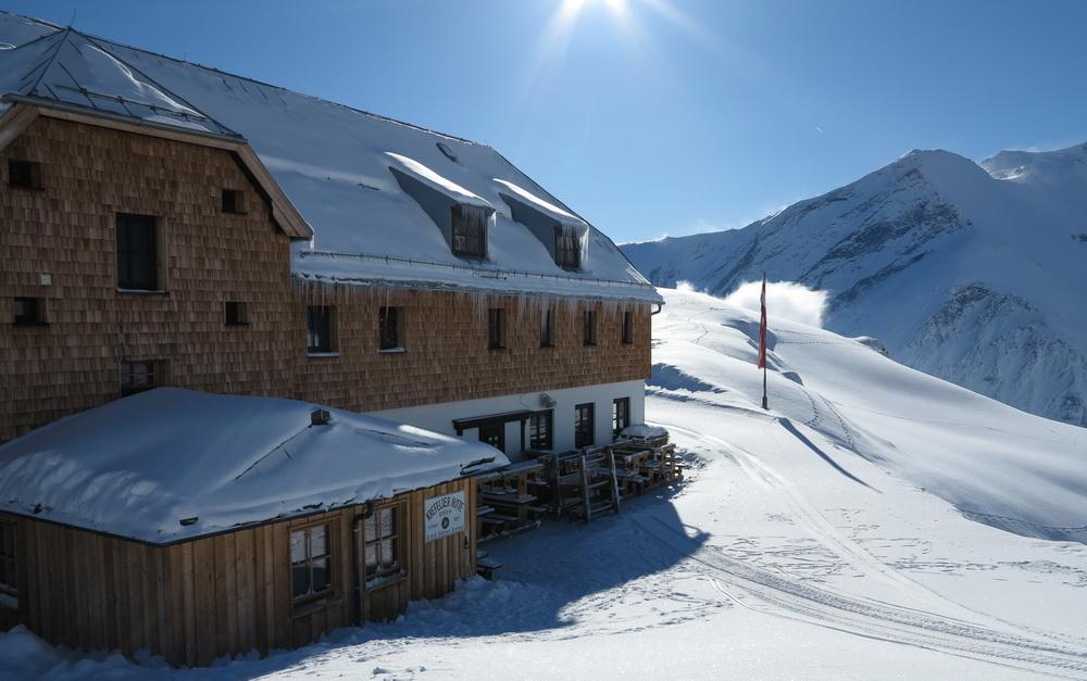 Kaprun 2014- Krefelder Hütte 2295m am Kitzsteinhorn