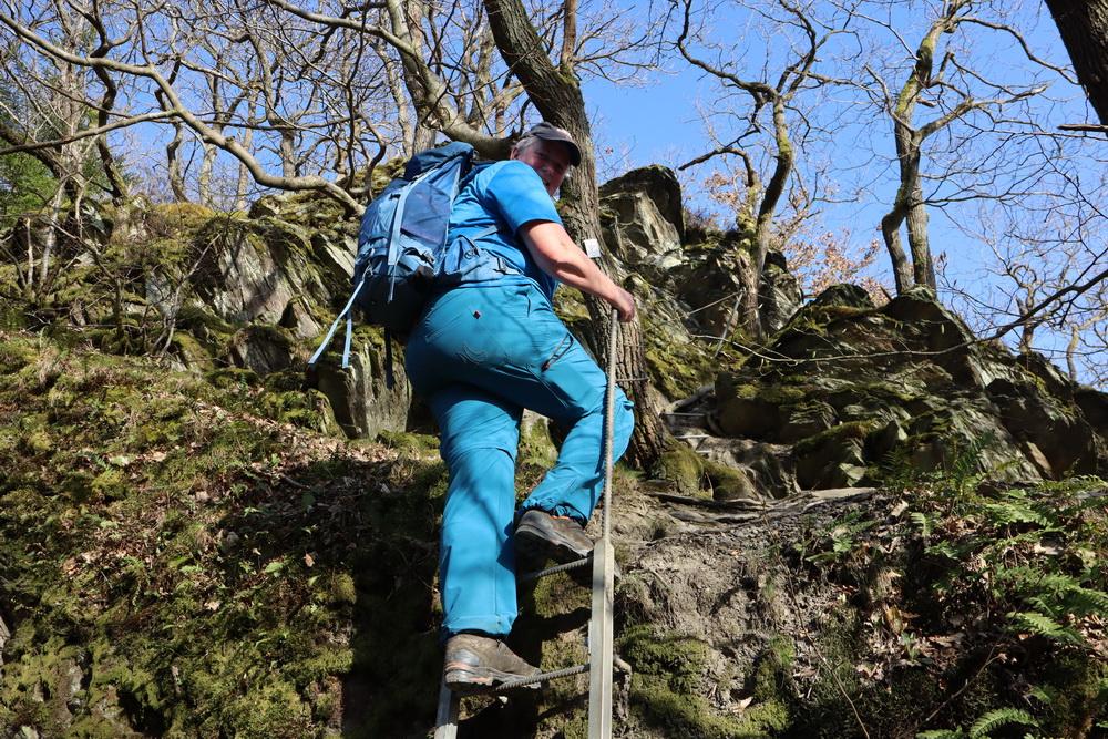 Abstieg nach Obernhof