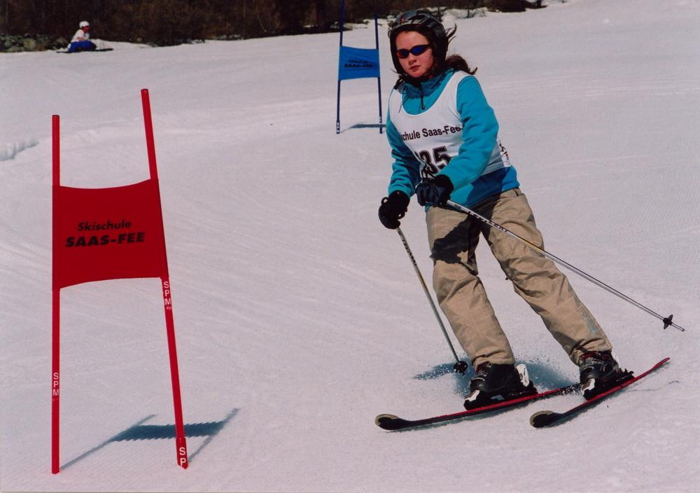 Saas Fee 2009- Das letzte Skirennen
