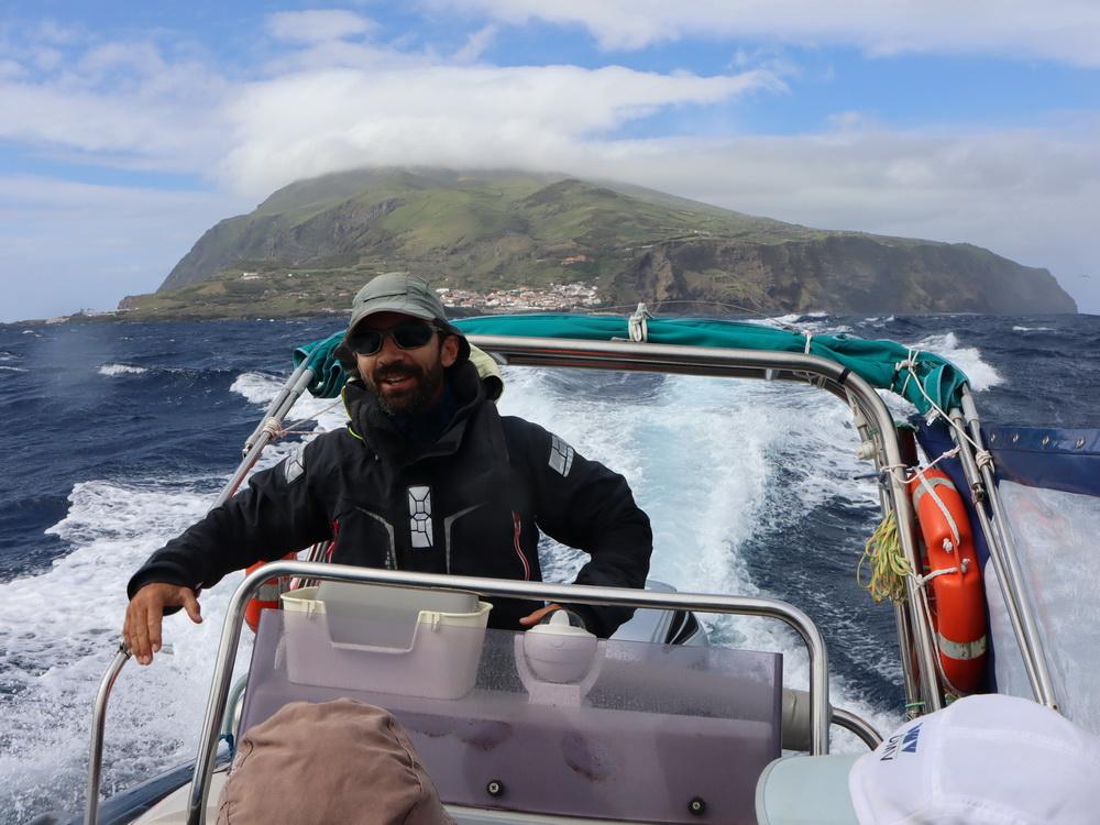 Wilde Überfahrt von Corvo mit Carlos