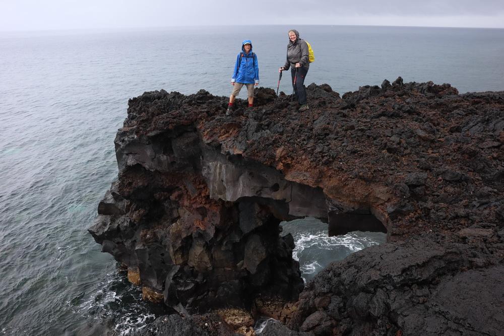 Felsbogen an der Ostküste Picos