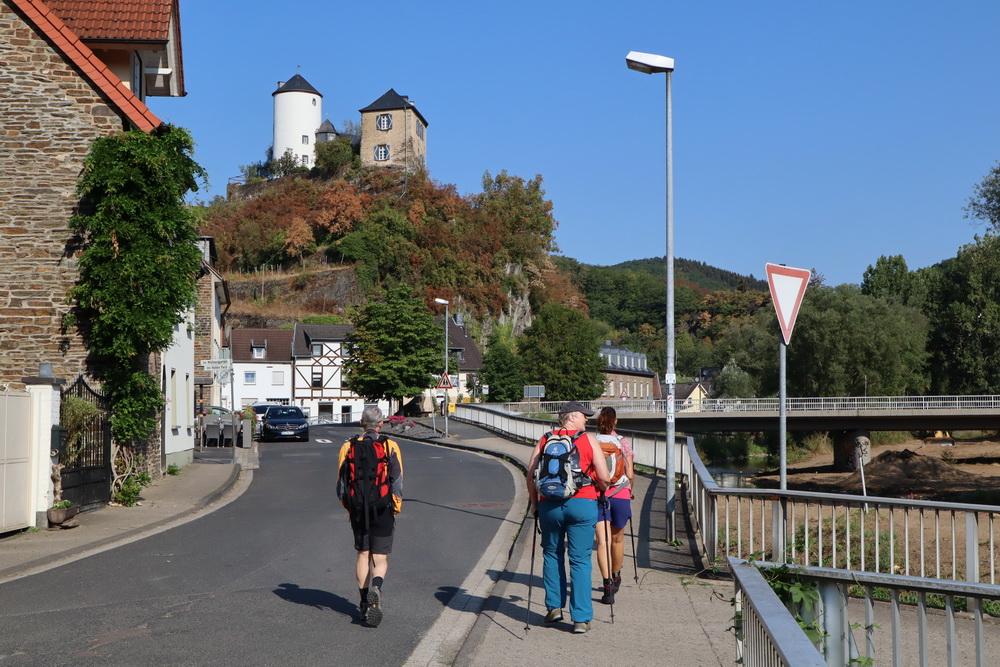 Start Etappe 5 in Kreuzberg