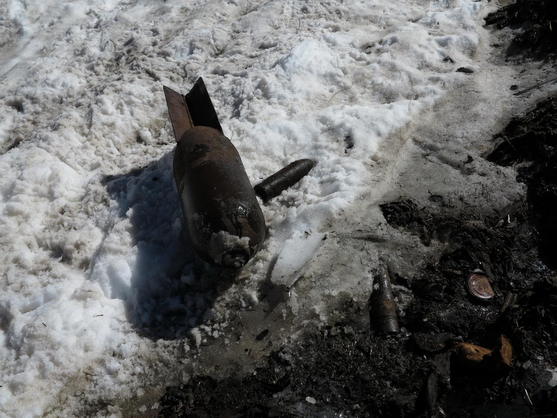 Scharfe Granaten im Gletschereis