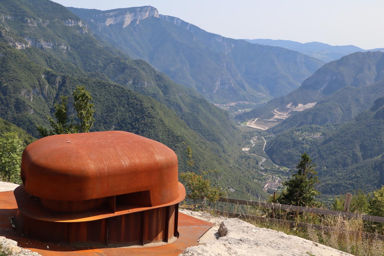 Forte Belvedere über dem Astico- Tal