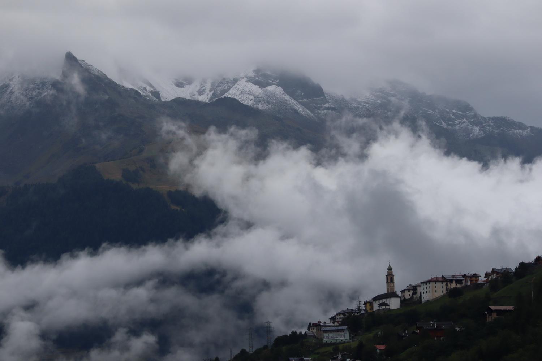 Kein Bergwetter- Blick ins Val di Pejo