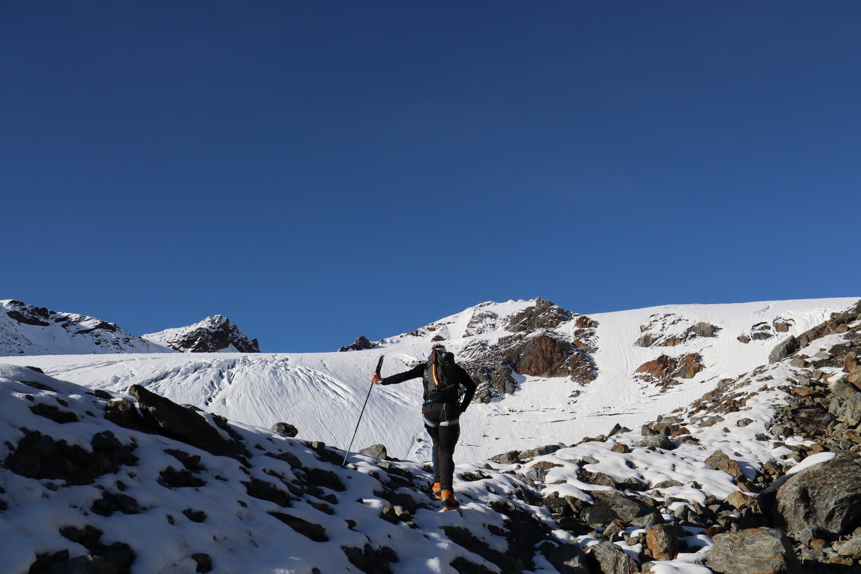Neuschnee über 3000m