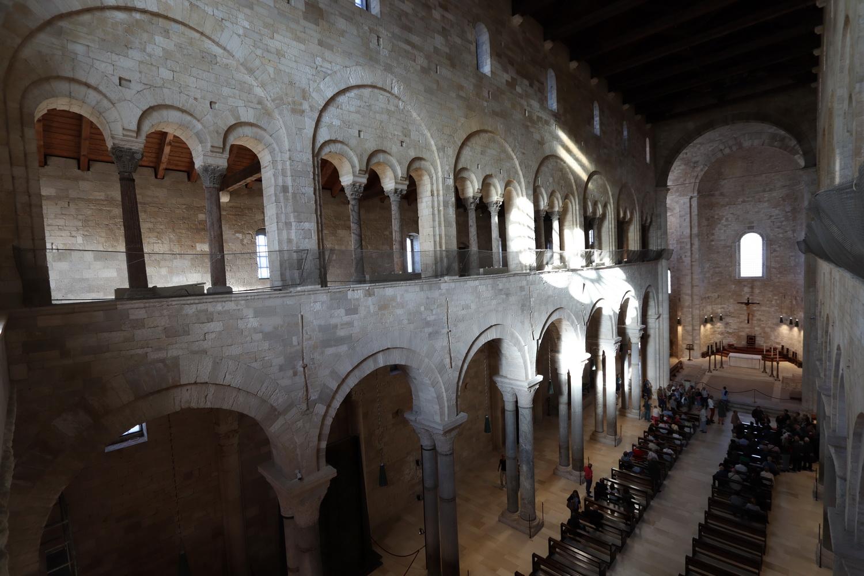 Kathedrale Trani- Blick von der Gallerie