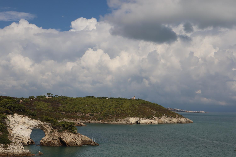 Küste am Gargano vor Vieste