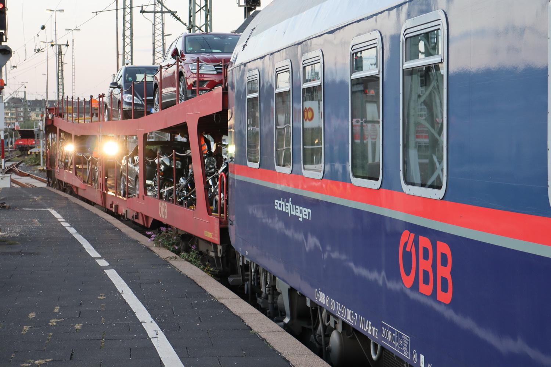 ÖBB- Nightjet nach Innsbruck
