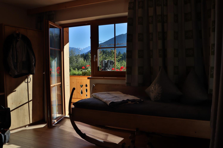 Die Rodelkammer- Mein schönes Hotelzimmer in Fügenberg im Zillertal