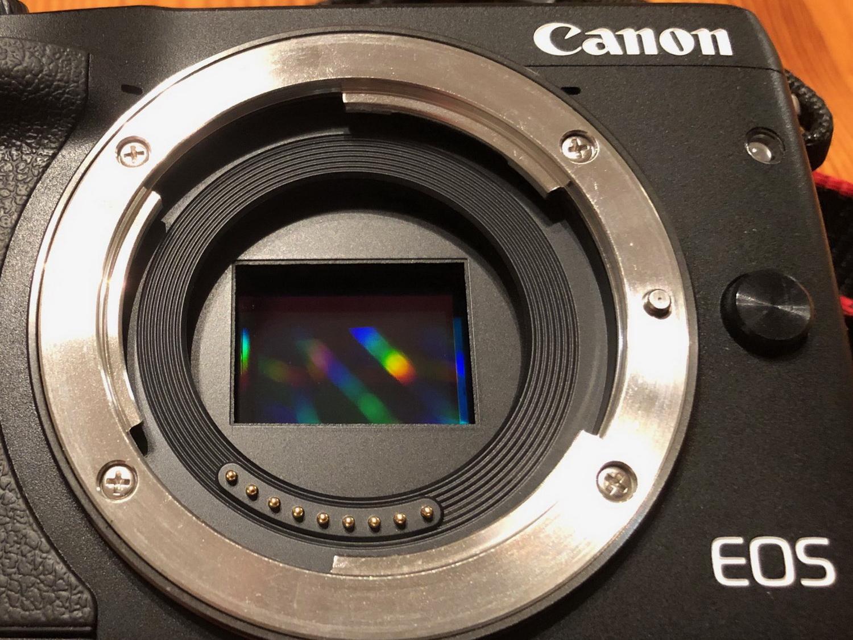 CMOS Sensor- Licht wird zu Pixeln (Canon EOS M3)