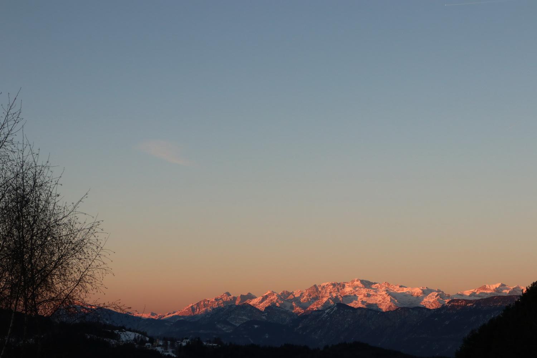 Brenta bei Sonnenaufgang