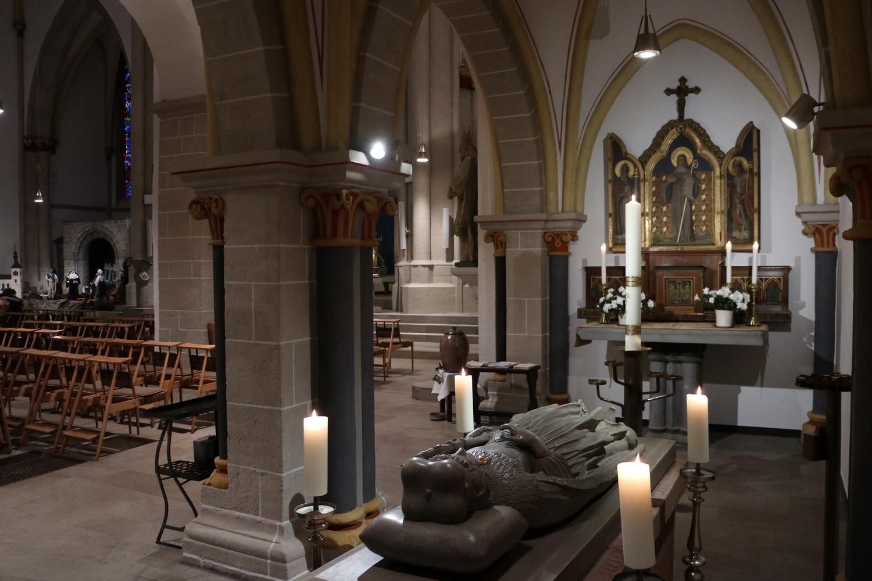 Grablege Heilige Adelheid- St.Peter Bonn-Vilich