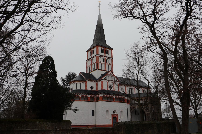 Romanische Doppelkirche Schwarzrheinbach- St.Maria und St.Clemens