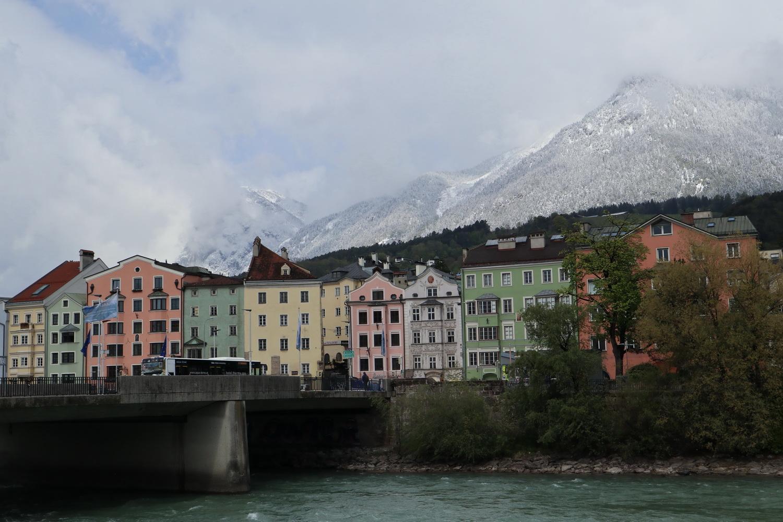 Leaving Innsbruck