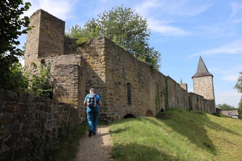 Stadt Blankenberg- Stadtmauer