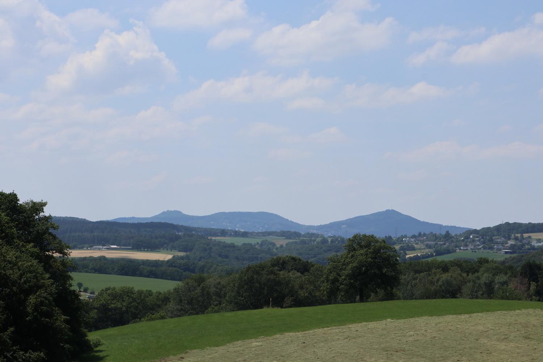 Siebengebirge- Löwenburg, Lohrberg und Ölberg