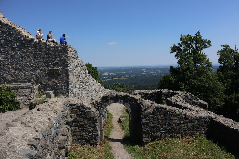 Löwenburg- Blick nach Nord-Ost