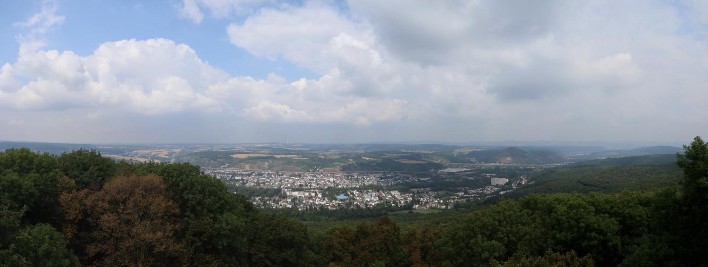 Aussicht am Neuenahrer Berg