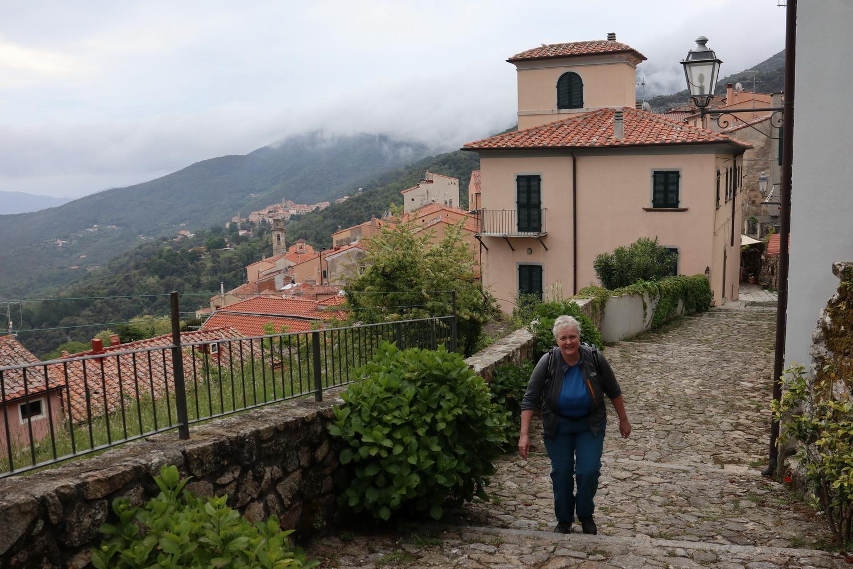 Marciana Alta- Beginn des Kreuzwegs zur Madonna del Monte