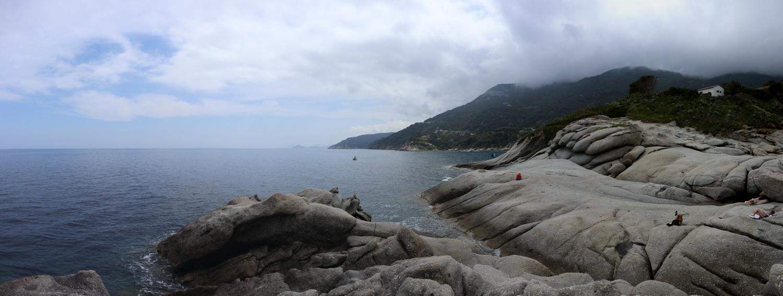 Felsen am Capo Sant'Andrea