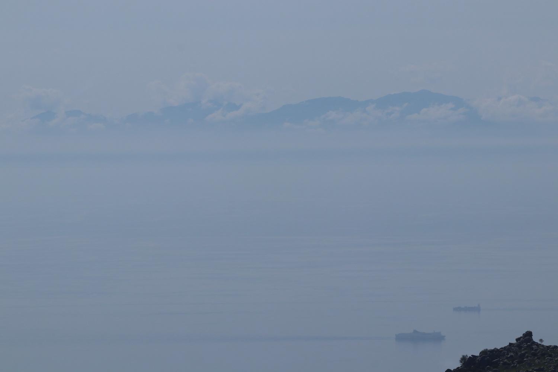 Korsikas Berge vom Monte Capanne aus