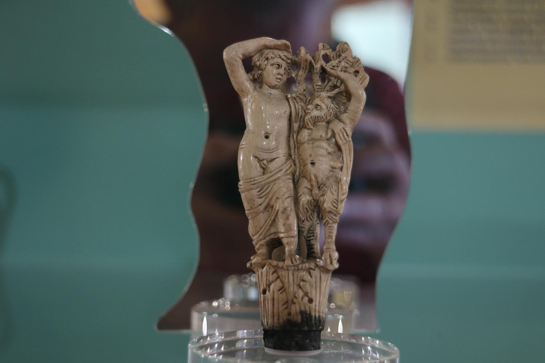 Elfenbeinfiguren aus dem 2.Jh. n. Chr.- Archäologisches Museum Marciana