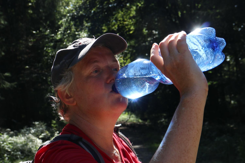 Die durstige Frau