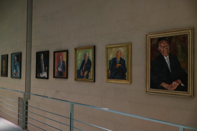 Galerie der Bundeskanzler- Kanzleramt